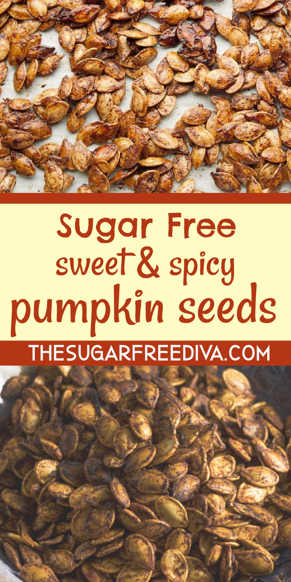 Sugar Free Sweet and Spicy Pumpkin Seeds