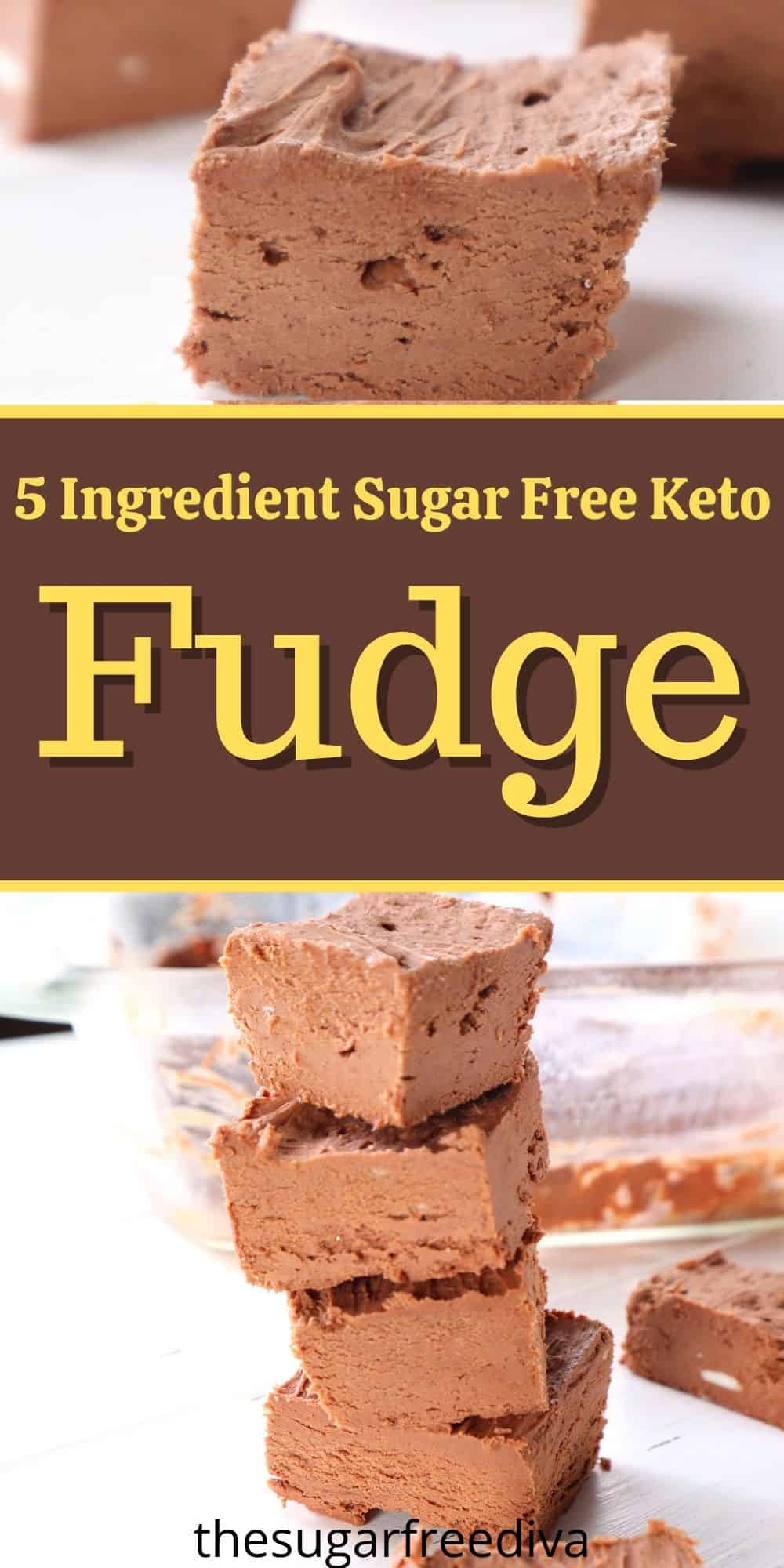 Easiest Keto Fudge Recipe