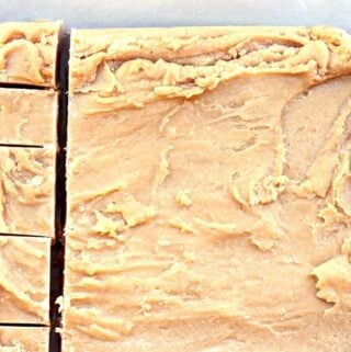 cut pb fudge