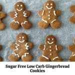 How to Make Low Carb Gingerbread Cookies
