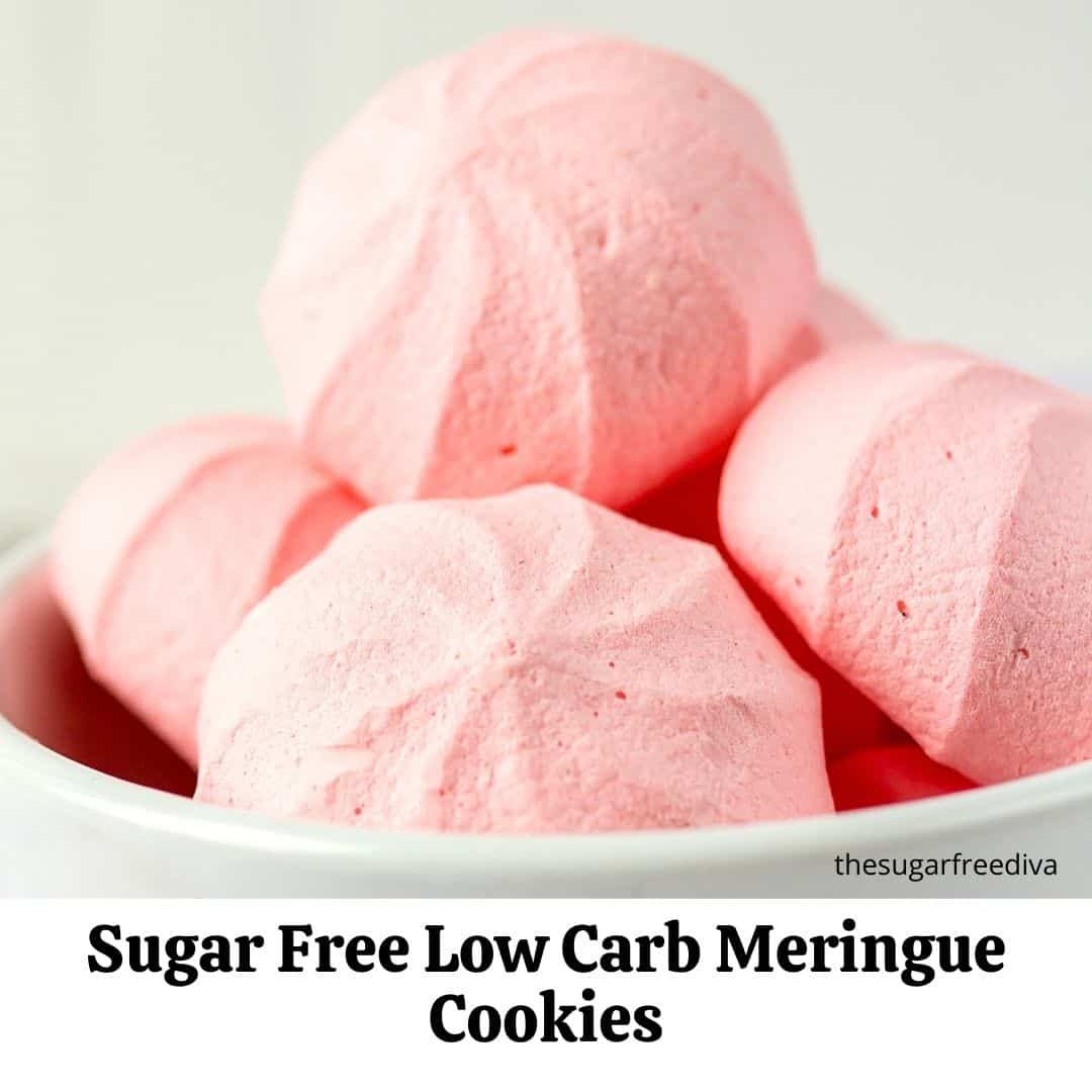 How to Make Sugar Free Meringue Cookies