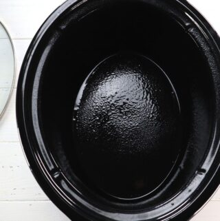slow cooker inside