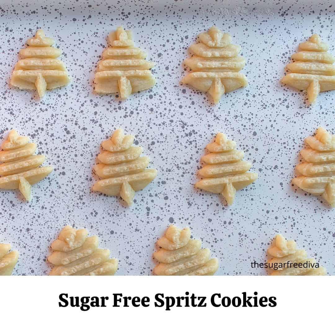 Sugar Free Spritz Cookies
