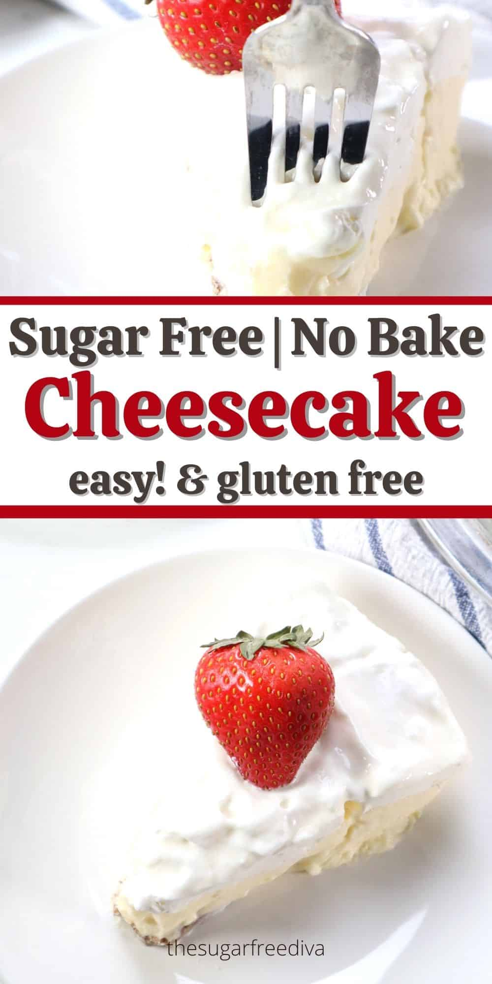 Sugar Free No Bake Pudding Cheesecake