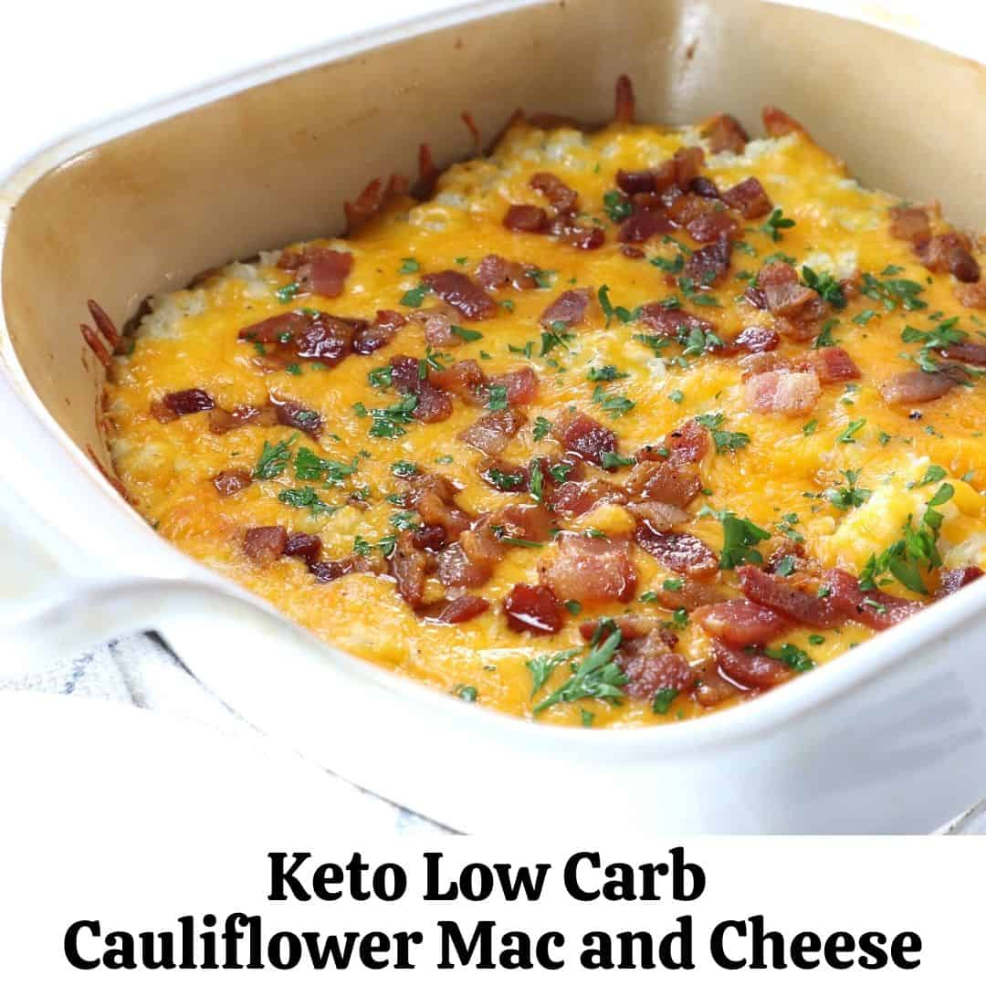 Keto Low Carb Mac and Cheese