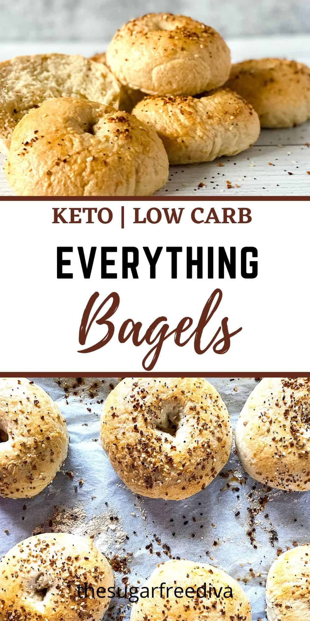 Keto Low Carb Everything Bagels