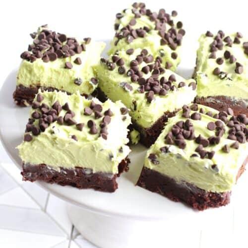 Sugar Free Mint Brownies