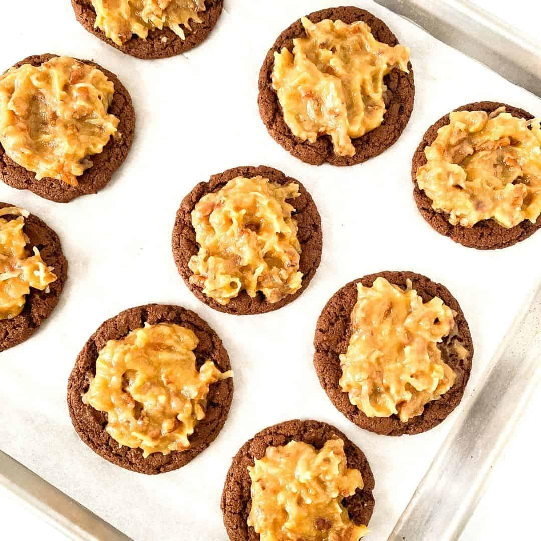 Sugar Free German Chocolate Cookies