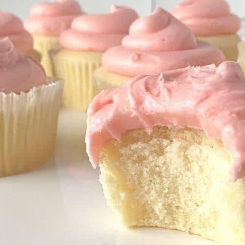Sugar Free Magnolia Style Cupcakes