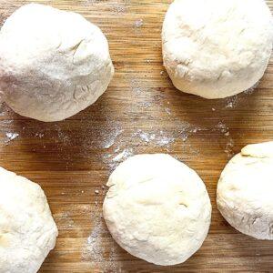 form dough balls