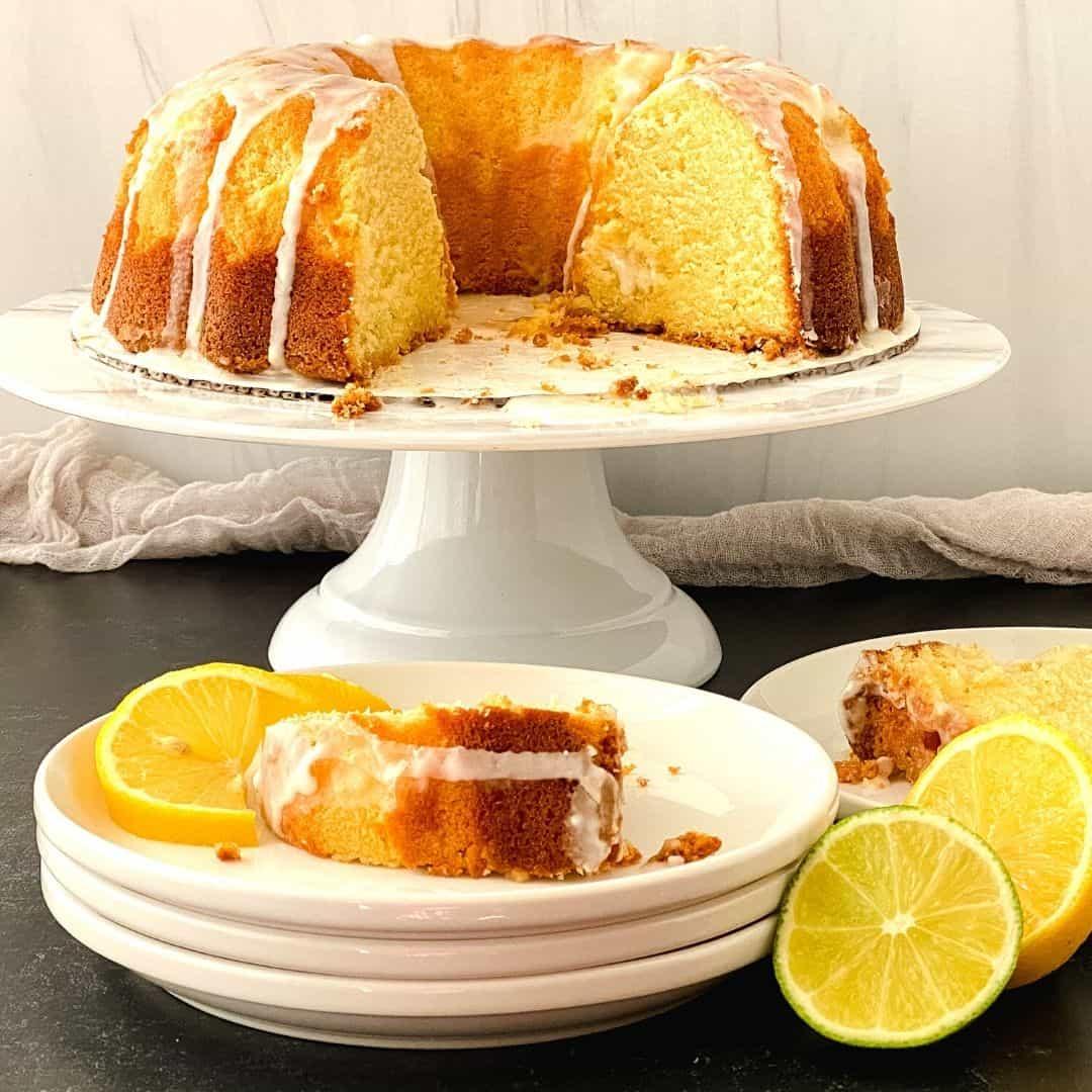 Sugar Free Lemon Lime Soda Cake