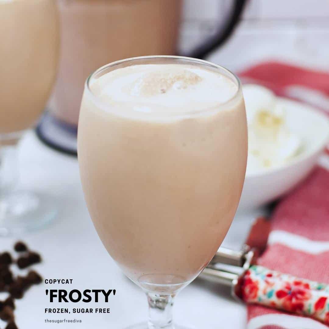 Sugar Free Copycat Frosty