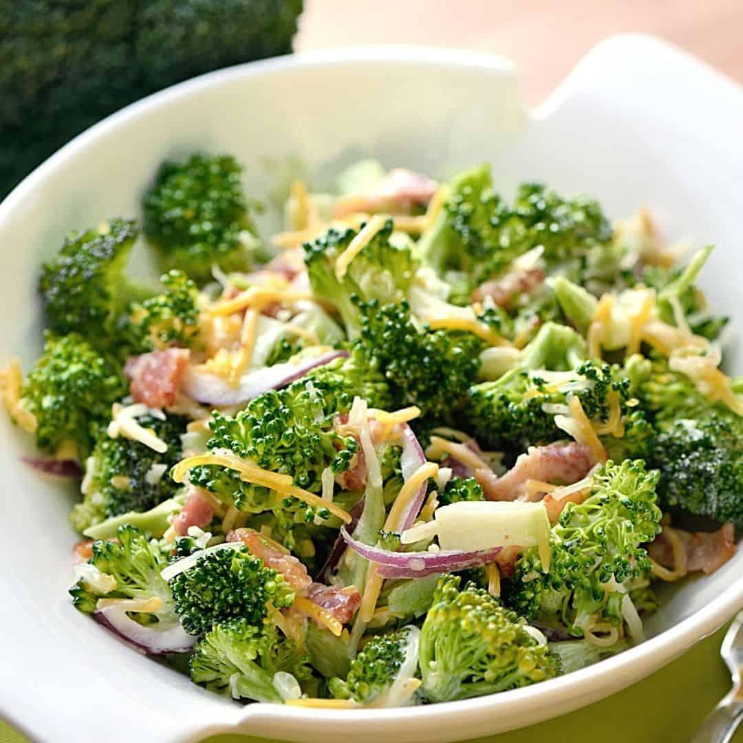 Keto Bacon and Broccoli Salad