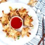 Low Carb Air Fried Crab Rangoon