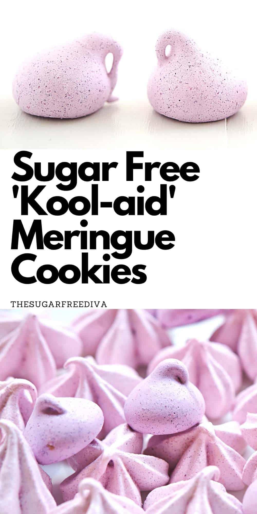 Sugar Free Kool Aid Meringue Cookies