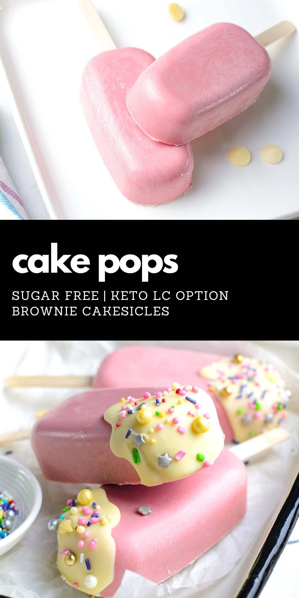 Sugar Free Cake Pops