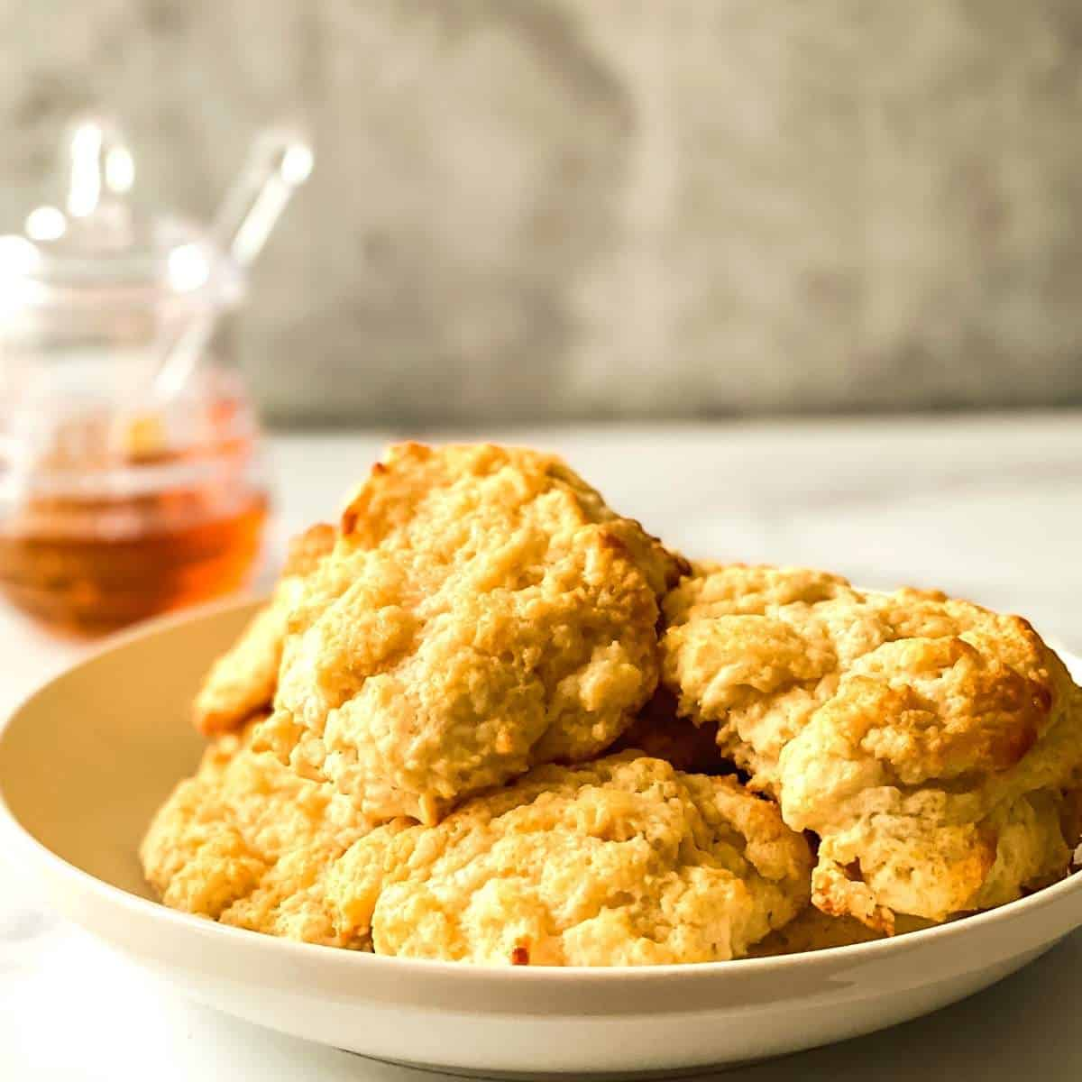 Sugar Free Honey Butter Biscuits