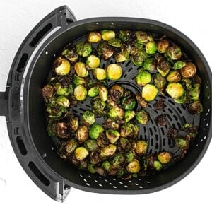 brussels sprouts in basket