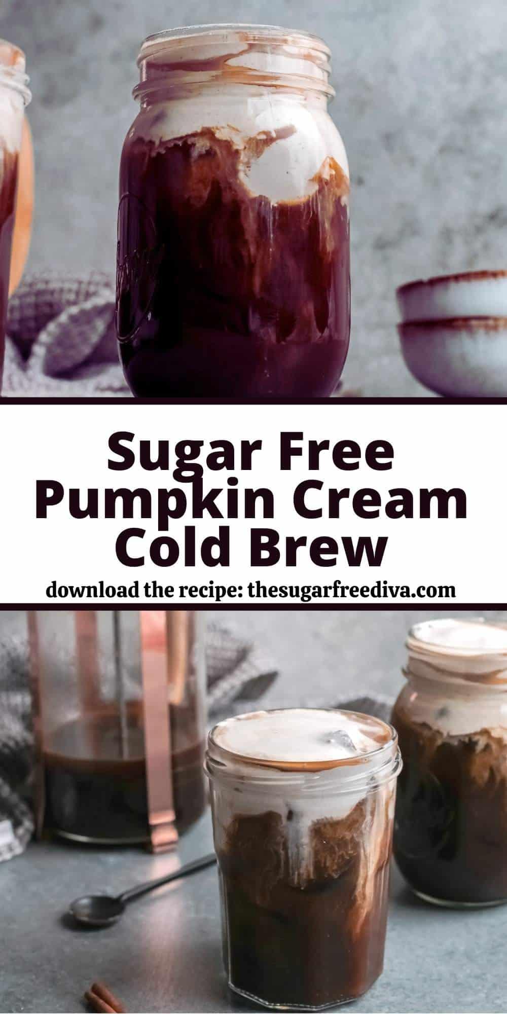 Sugar Free Pumpkin Cream Cold Brew