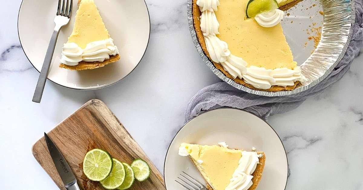 Easy Sugar Free Key Lime Pie