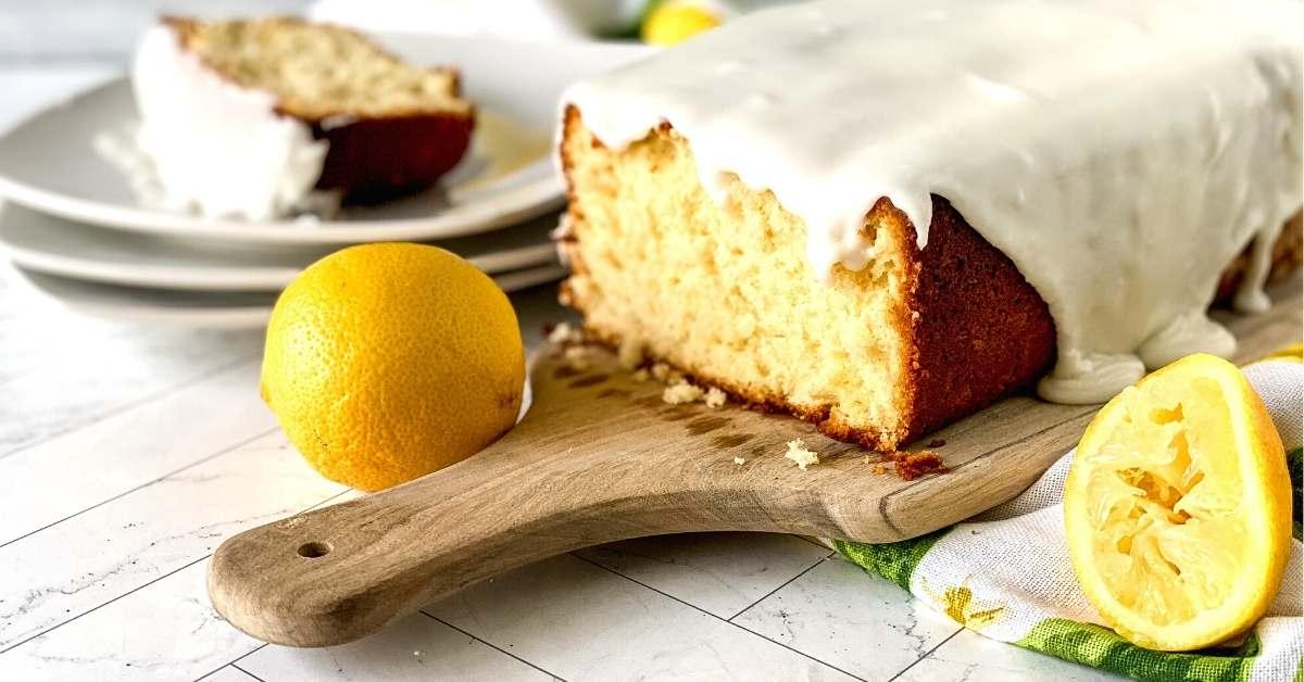 Sugar Free Copycat Lemon Loaf