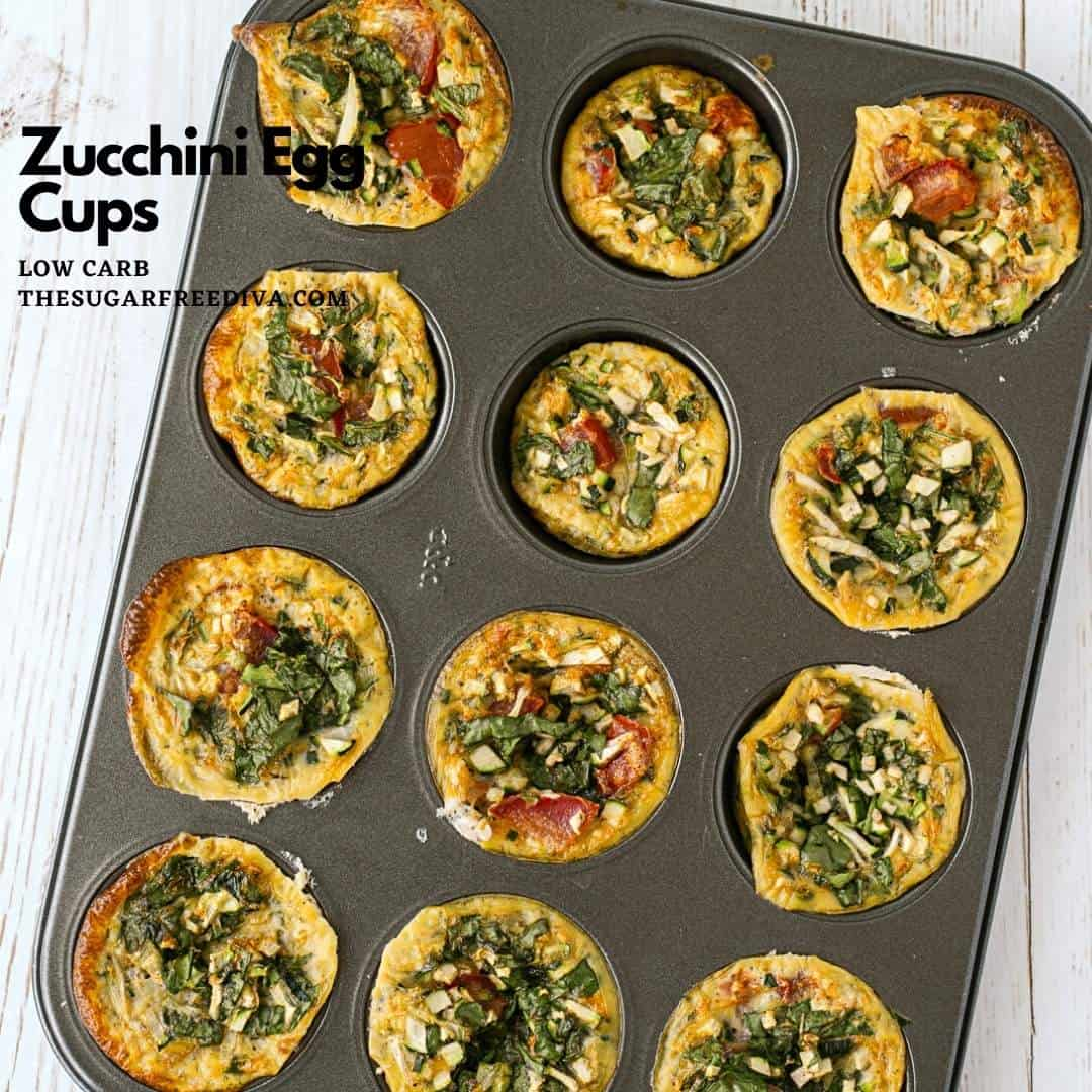 Low Carb Zucchini Egg Cups