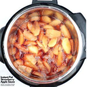 Instant Pot Strawberry Applesauce