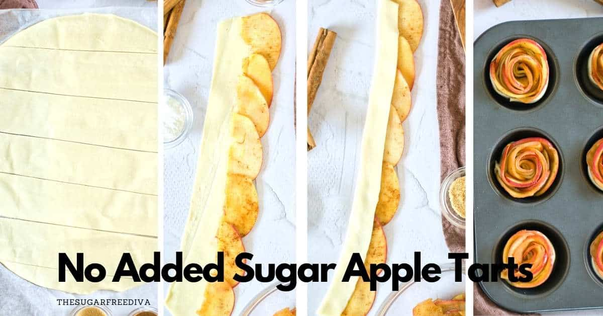 Sin azúcar ni tartaletas de manzana añadidas