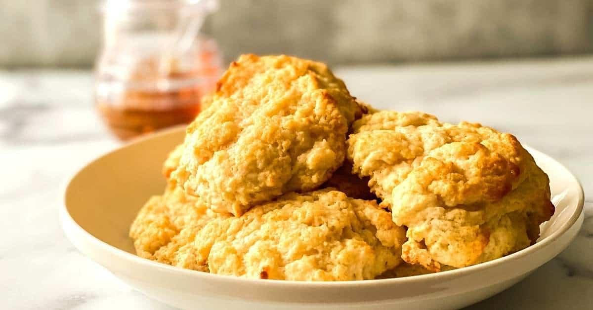 Sugar Free Keto Honey Butter Biscuits