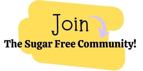 join the sugar free community